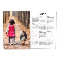 Calendario Personalizado de mano 6,5x9,5 cm (Minimo 64 unidades)