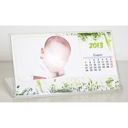 Calendario Personalizado para mesa papel couche 300 grs