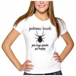 Camiseta Basica Blanca prediseñada (A)
